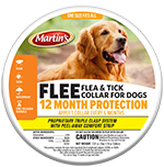 Martin's FLEE Flea and Tick Collar for Dogs